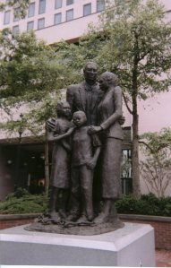 Slavery memorial, Savannah, GA