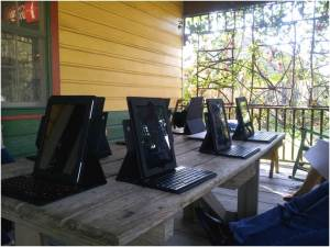 Plantation Visitor Survey Station, Laura Plantation, LA